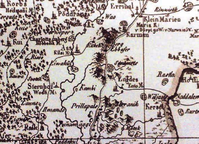 1798 aasta kaart